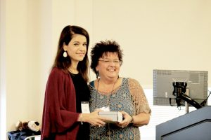 Outstanding Continuing Education Support Staff -  Donna Foster  (accepted by Lori Mack, MTC Program Manager on Donna's behalf) -  Midlands Technical College